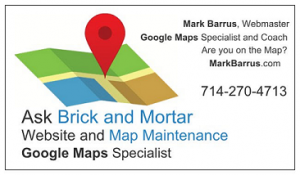 Website and Map Maintenance